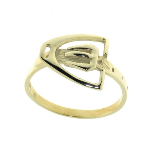 Ring Steigbügel mit Bügelriemen
