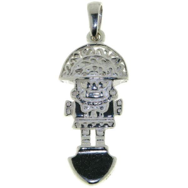 Anhänger Tumi Maya Talisman massiv echt Silber