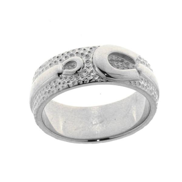 Ring mit 1 großen und einem kleinen Hufeisen schwer massiv echt Silber
