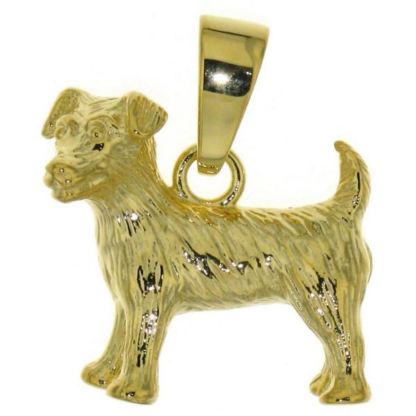 Anhänger Jack Russel Terrier massiv