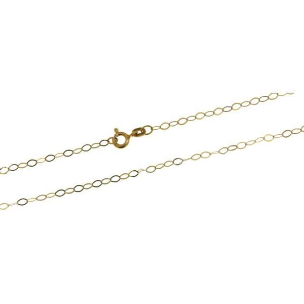 Collierkette Ankerkette zart filigran 585/-