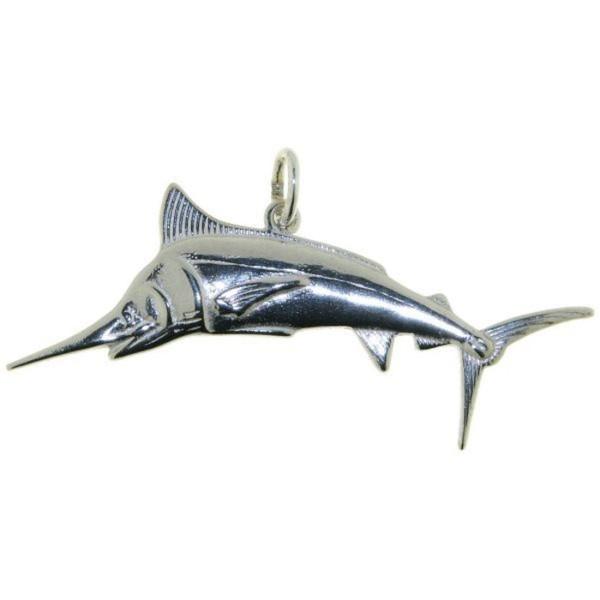 Anhänger Schwertfisch Marlin echt Silber