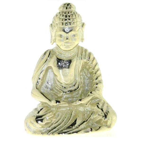 Anhänger Buddha massiv echt Gold