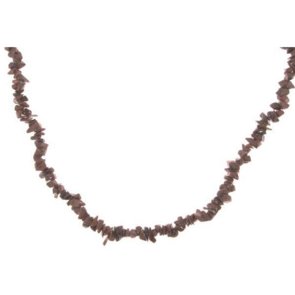 Steinkette aus Obsidian Edelstein - Angebot