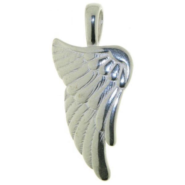 Anhänger Hoffnungs-Flügel Schutzengel Engels-Flügel Talisman massiv echt Silber