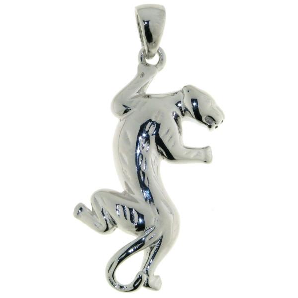 Anhänger Panther Raubkatze echt Silber