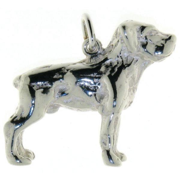 Anhänger Labrador massiv echt Silber
