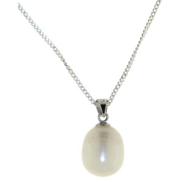 Anhänger echte Perle mit Kette echt Silber Sonderpreis solange Vorrat reicht