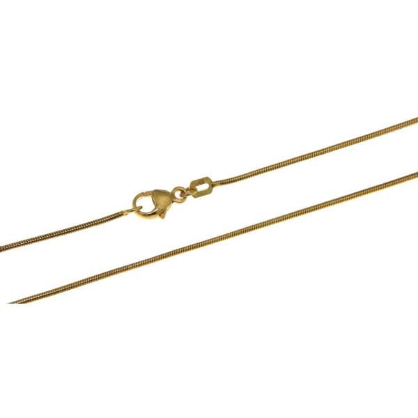 Collierkette Schlangenkette 0,9 mm stark 585/-