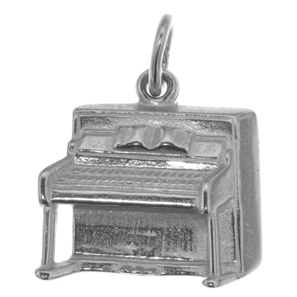 Anhänger Klavier Piano Musikinstrument massiv echt Silber