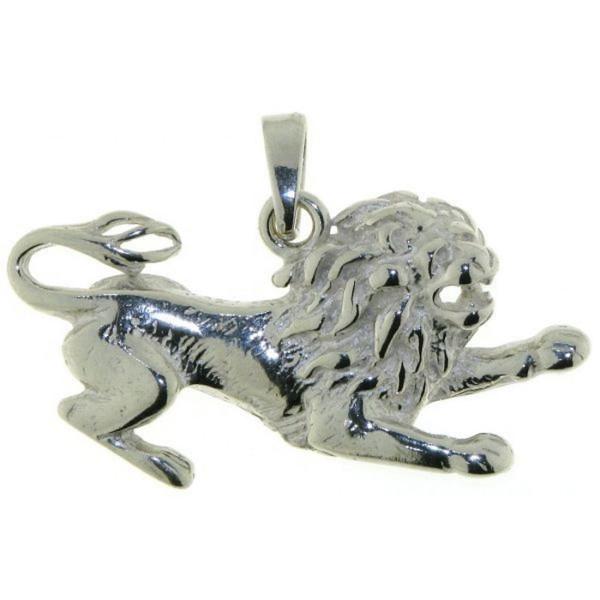 Anhänger Löwe Sternzeichen Tierkreiszeichen echt Silber