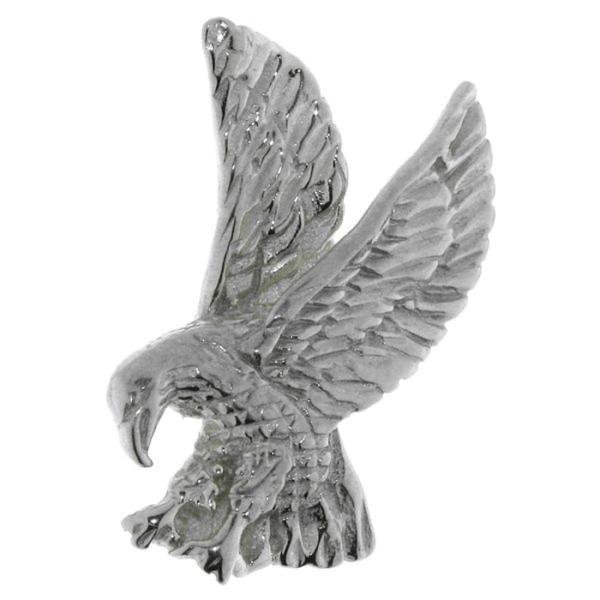 Anhänger Adler Raubvogel klein massiv echt Silber