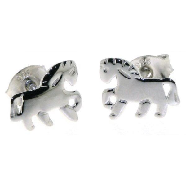 Ohrstecker Pferdchen Pony massiv echt Silber - Sonderpreis solange Vorrat reicht