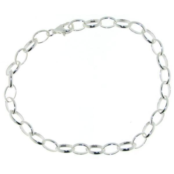 Gliederarmband - ideal für Charms - Bettelarmband echt Silber