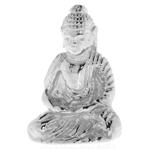 Anhänger Buddha Buddhismus Glaube Religion massiv echt Silber