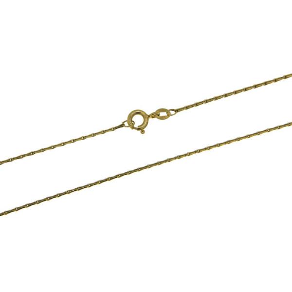Collierkette Haferkornkette 0,9 mm stark 585/-