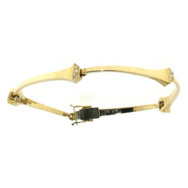 Armband Hufnägel goldplattiert