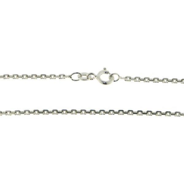 Collierkette Anker diamantiert 1,9 mm stark 925/-Sterlingsilber
