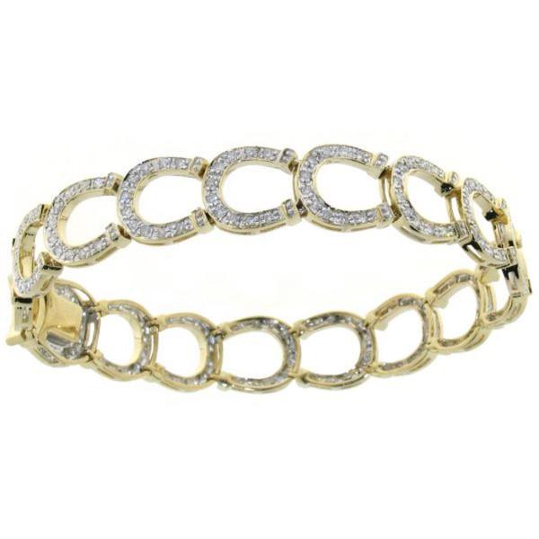 Armband Hufeisen mit Diamanten