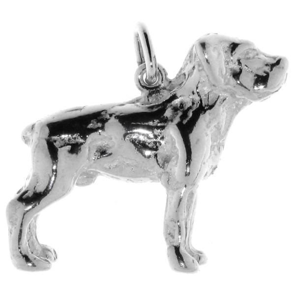 Anhänger Labrador Retriever Hunderasse massiv echt Silber