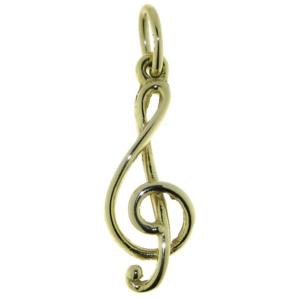 Anhänger Notenschlüssel Musiksymbol