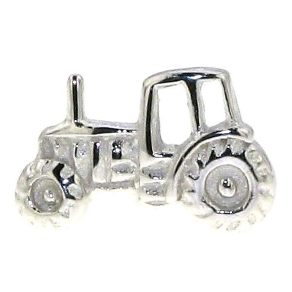 Ohrstecker Traktor Schlepper Bulldog Herren Einzel Ohrring echt Silber