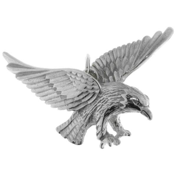 Anhänger Adler Raubvogel echt Silber mittelgroß