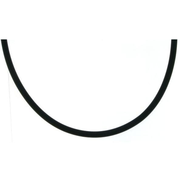 Kautschukband Collierkette 3 mm stark - 41 cm lang - Angebot solange Vorrat reicht